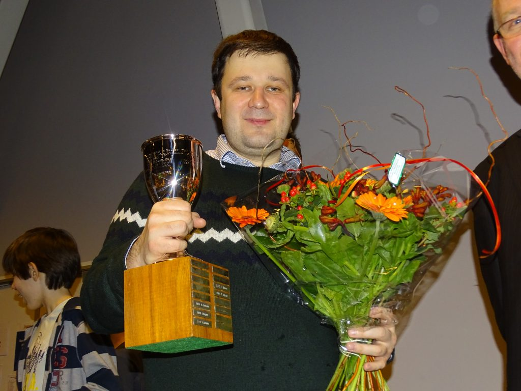 Sergey Fedorchuk, winnaar DN 2017