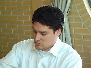 Edwin van Haastert - kampioen van de Leidse Schaakbond 2006